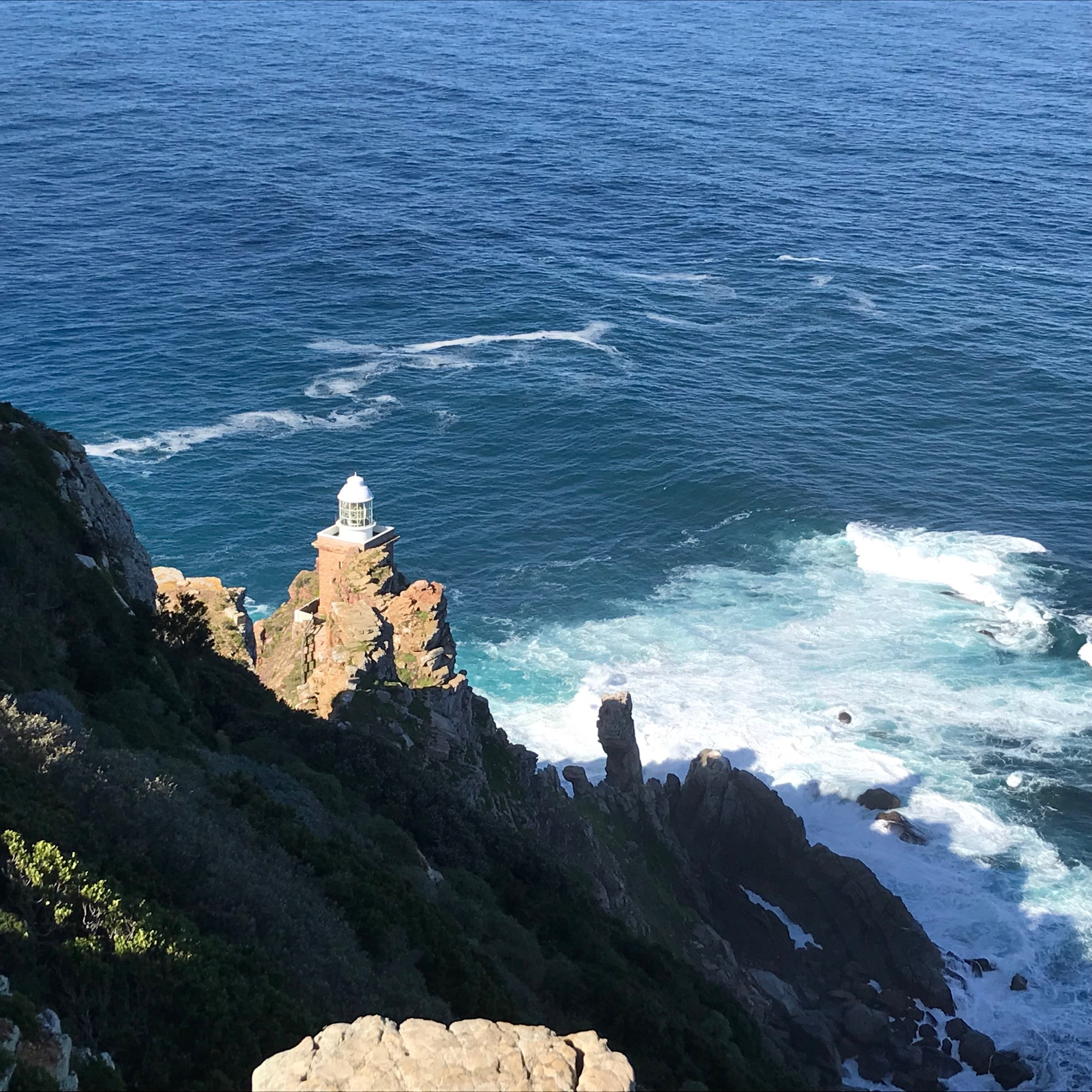 Lighthouse at the Cape Point National Park